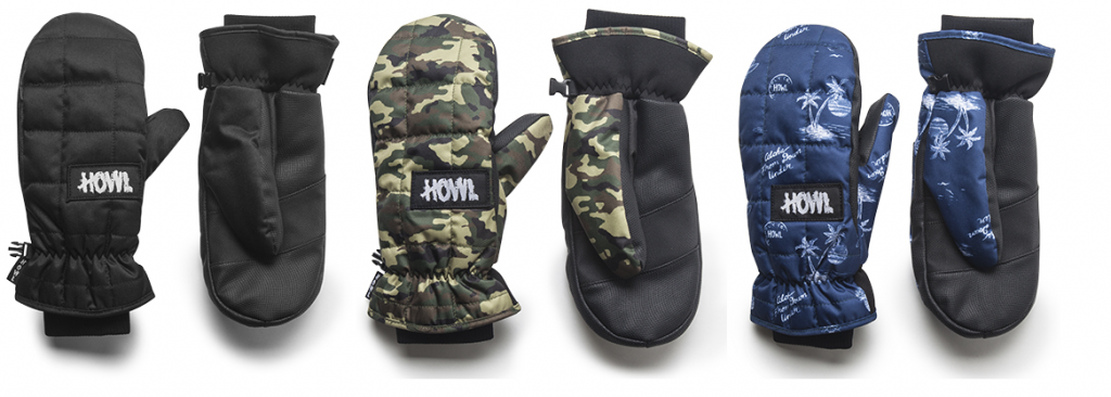 Howl Ski Gloves